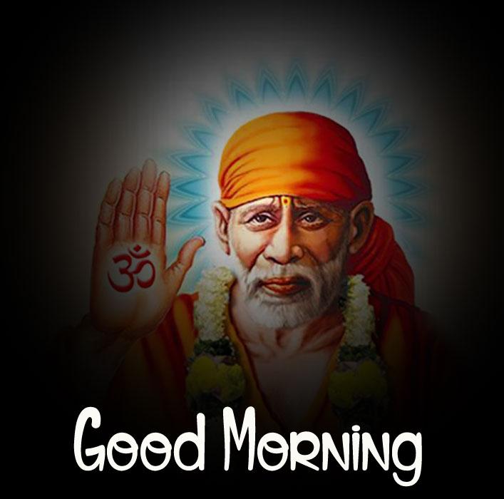 download of Sai Baba Good Morning Images
