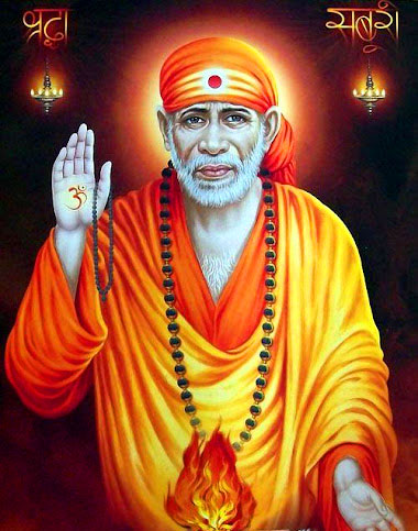 dp for Latest Sai Baba Blessing Images
