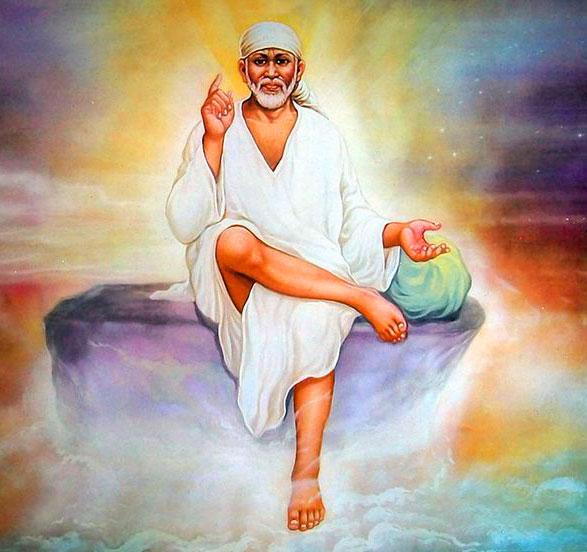 free Beautiful Sai Baba Blessing Images