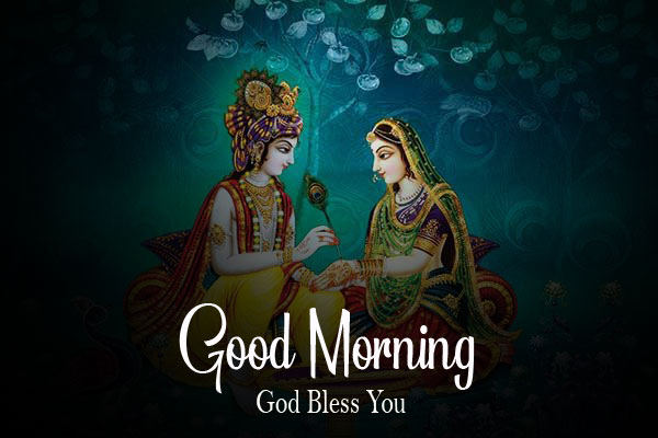 free Latest Radha Krishna Good Morning Images