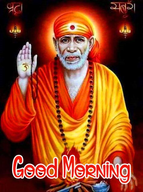 free Latest Sai Baba Good Morning Images