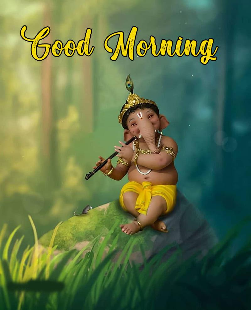 free Latest ganesha good morning images