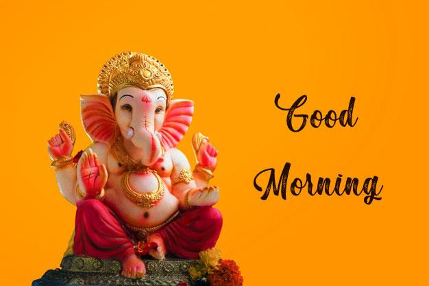 free New ganesha good morning images
