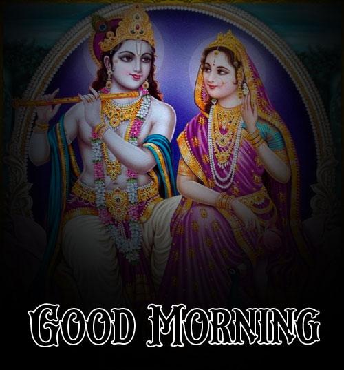 free Nice Radha Krishna Good Morning Images