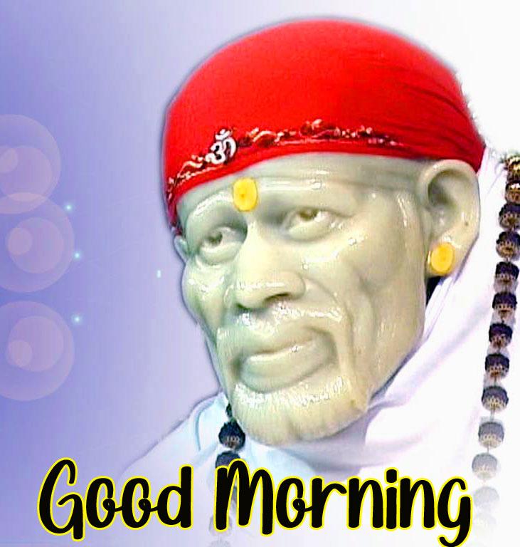 free Nice Sai Baba Good Morning Images