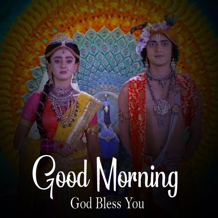 free Radha Krishna Good Morning Images