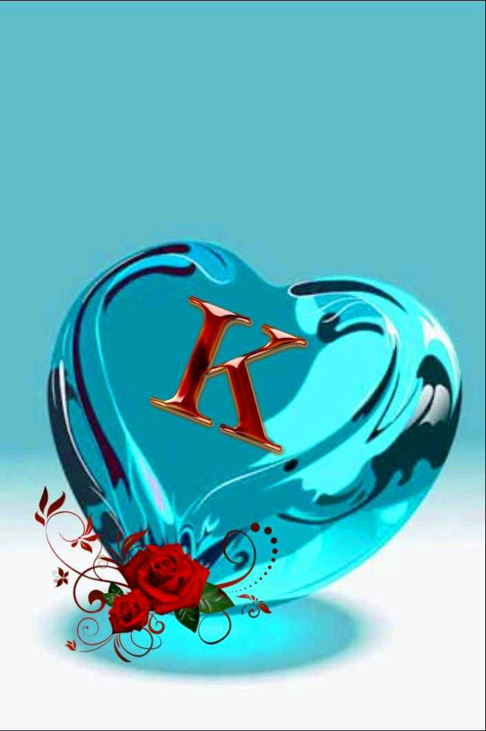 free Stylish K Name Dp Images