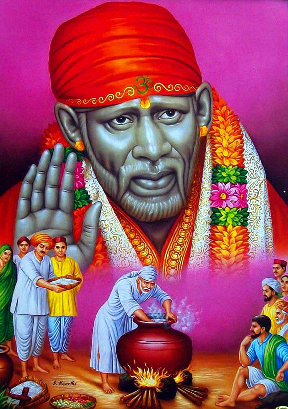free download Sai Baba Blessing Images