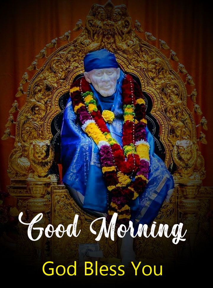 free download of Latest Sai Baba Good Morning Images