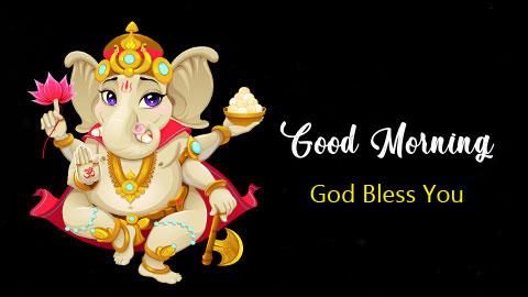 free download of ganesha good morning images
