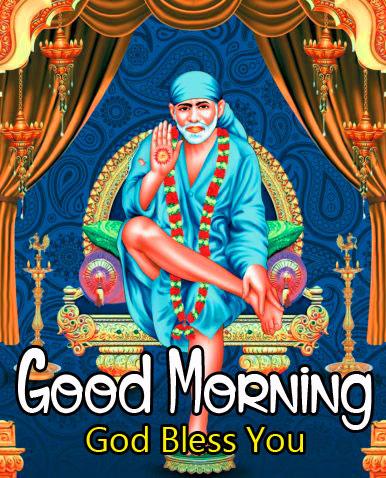 free hd Sai Baba Good Morning Images