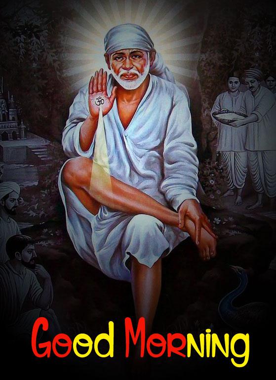 fresh Sai Baba Good Morning Images