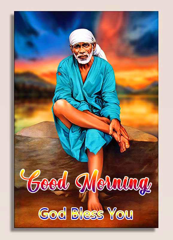 full hd Nice Sai Baba Good Morning Images