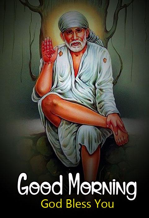 full hd Sai Baba Good Morning Images
