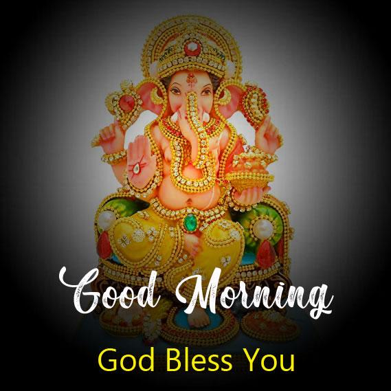 ganesha good morning images for whatsapp