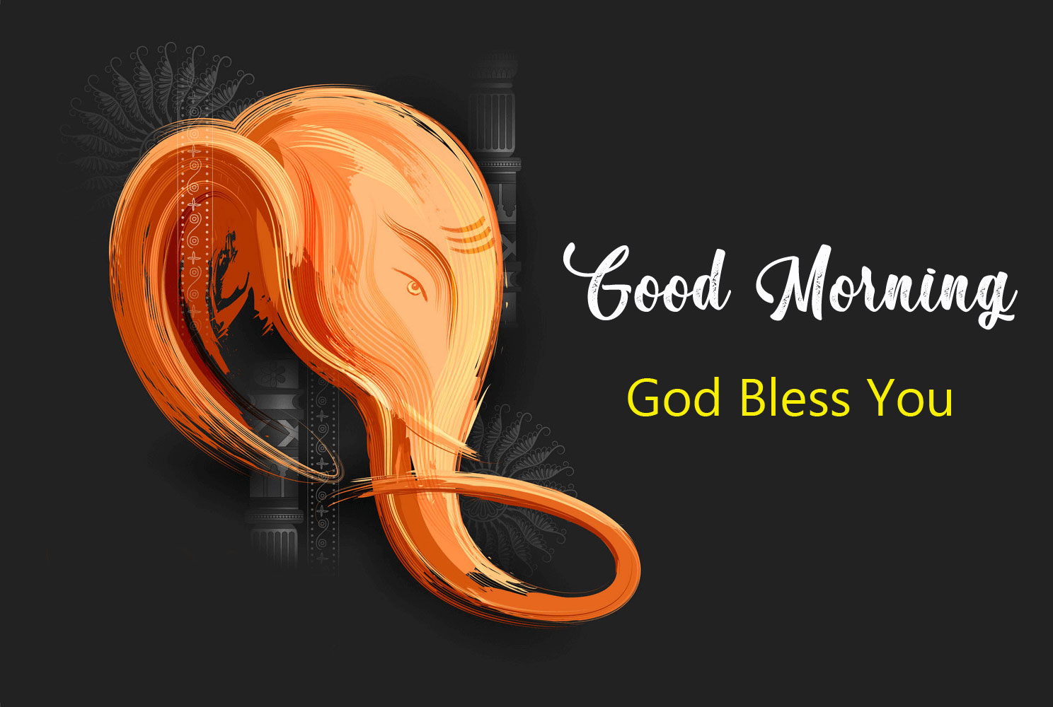 ganesha good morning images free hd download