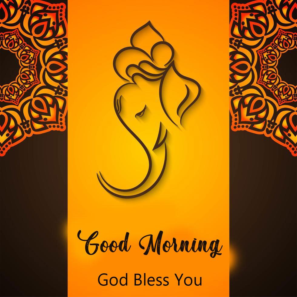 ganesha good morning images photo