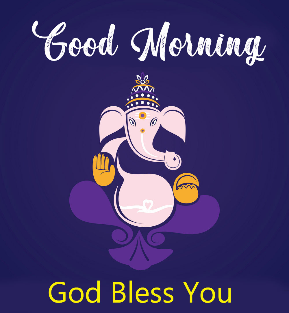 ganesha good morning images pics for download 2