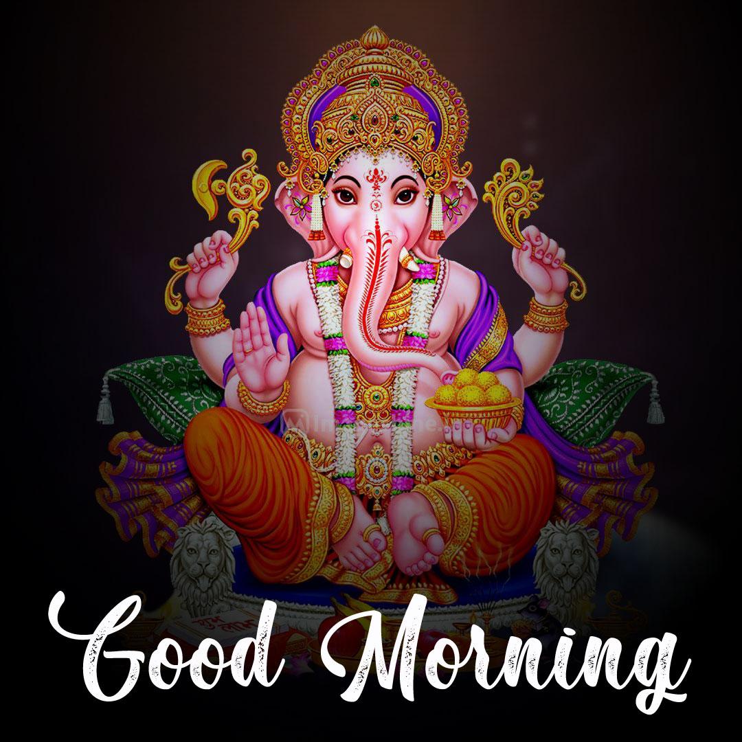 ganesha good morning images pics for download