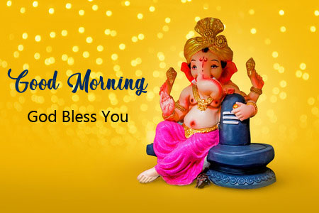 ganesha good morning images pics for friends