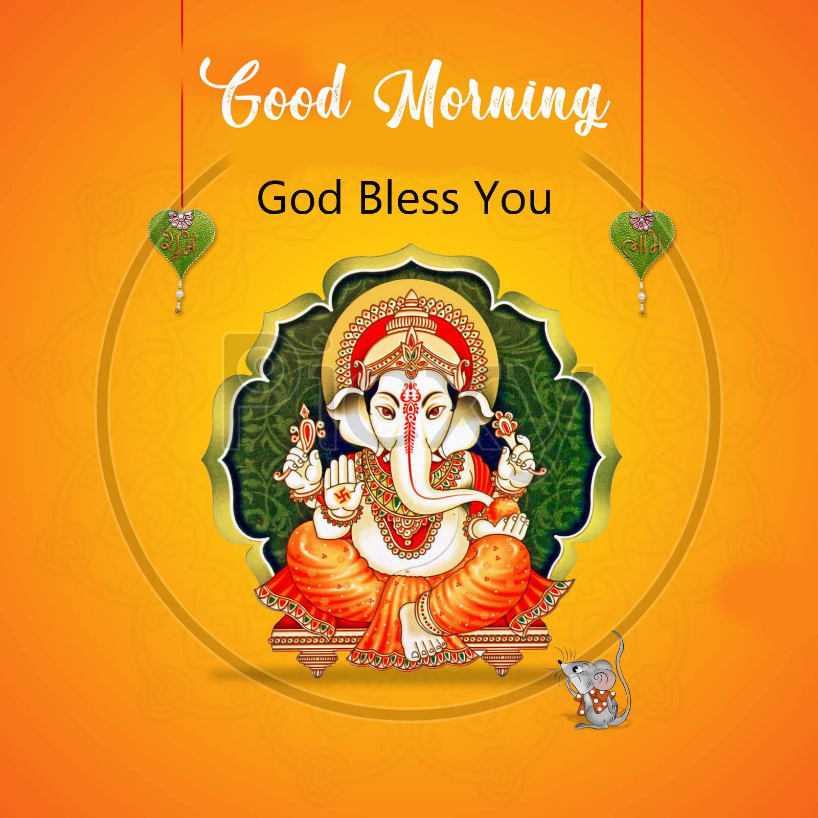 ganesha good morning images pics