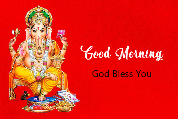 ganesha good morning images pictures 2021