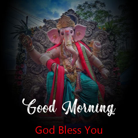 ganesha good morning images pictures for whatsapp
