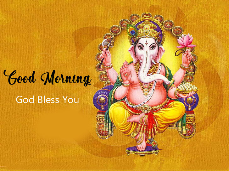 ganesha good morning images pictures pics 2021
