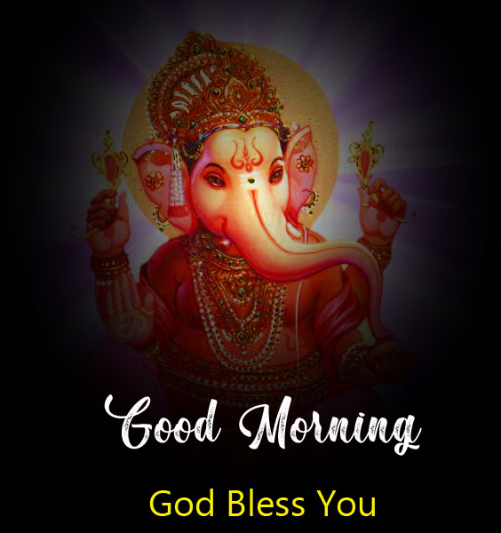 ganesha good morning images pictures