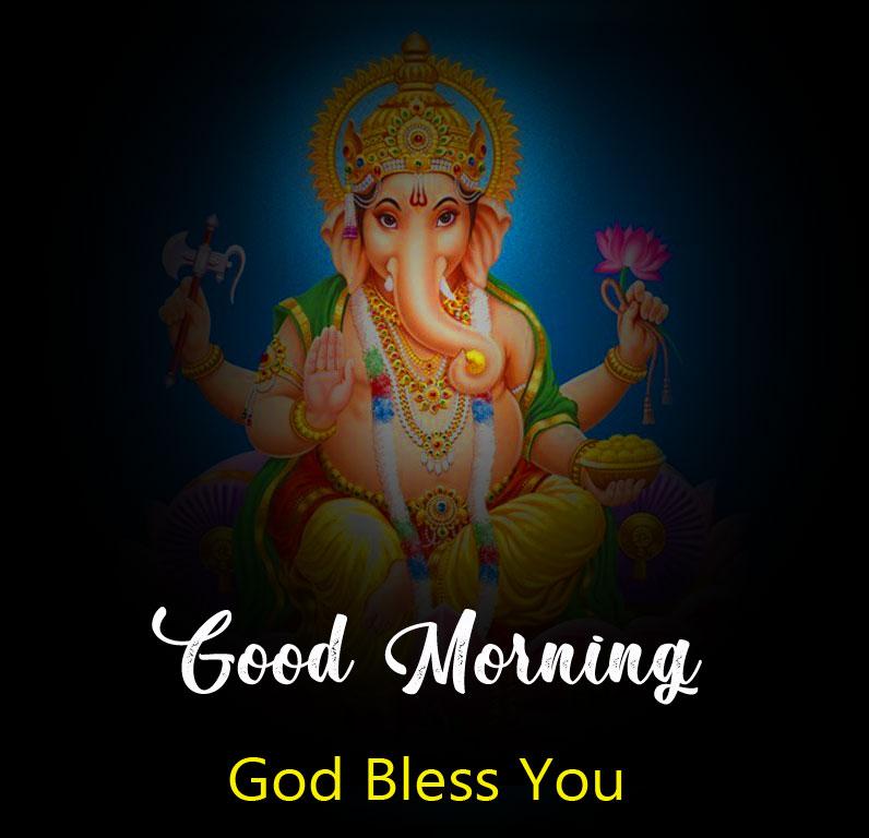 ganesha good morning images wallpaper