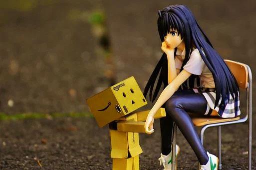 girl Latest Sad Cartoon Dp Images hd