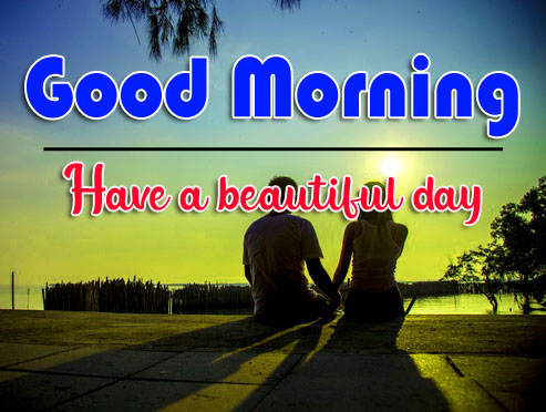good morning Whatsapp dp Images With Romantic Couple