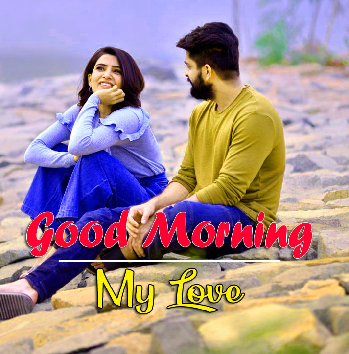 good morning Whatsapp dp Pics Wallpaper With Beautiful Love Couple