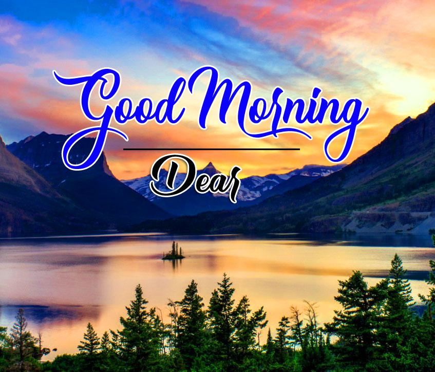 good morning Whatsapp dp Pics With Nature Lake
