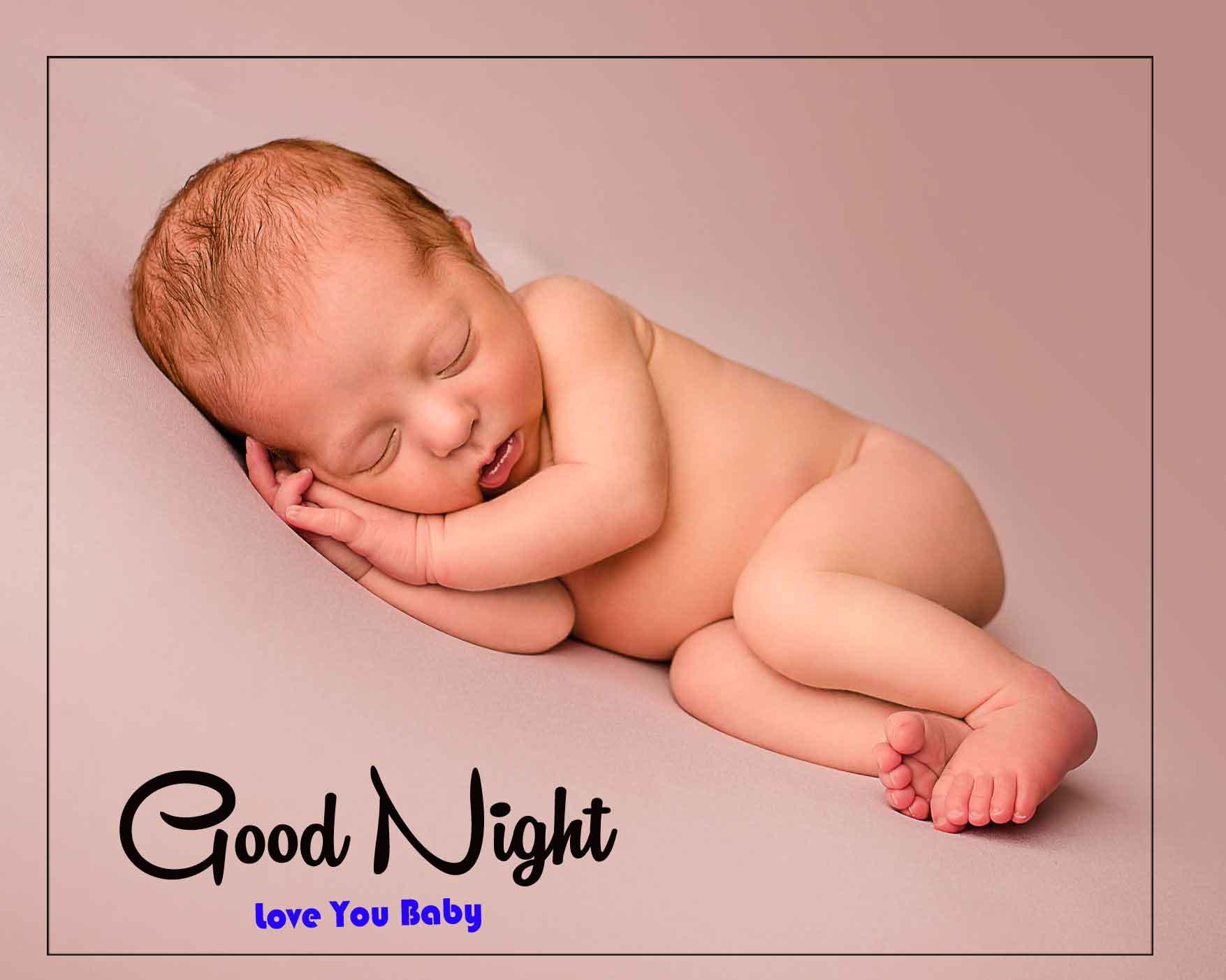 good night cute baby Photo
