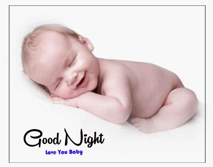 good night cute baby Pics Download