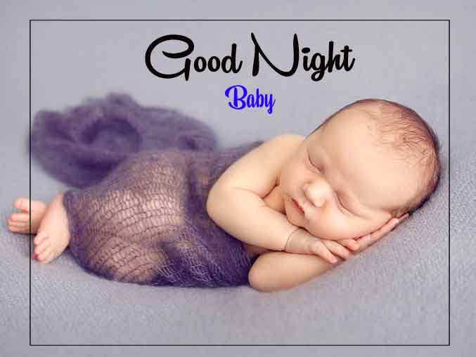 good night cute baby Pictures for Facebook