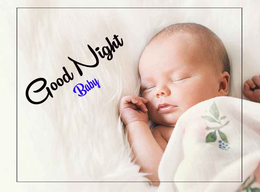 good night cute baby Wallpaper 2021