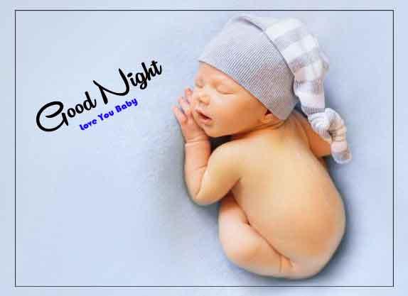 good night cute baby Wallpaper