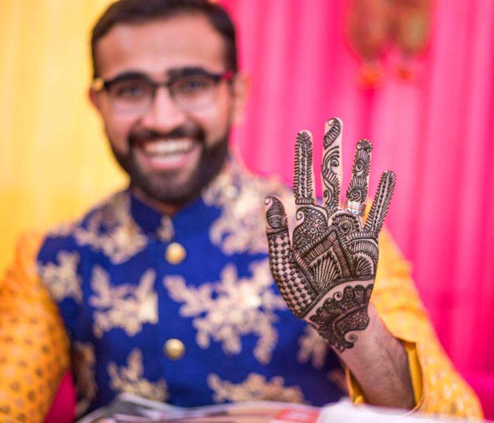 groom Latest Boys Mehndi Images 2