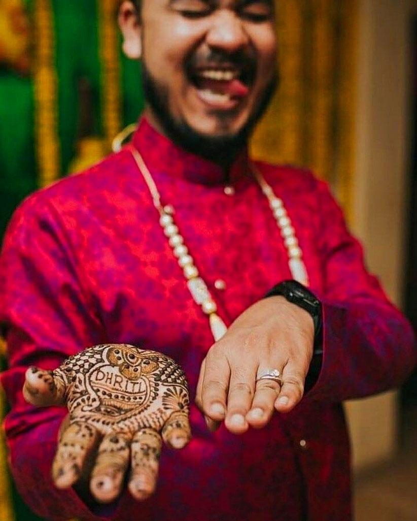 groom Latest Boys Mehndi Images