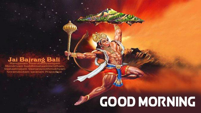 hanuman ji Good Morning Pics Wallpaper 2021