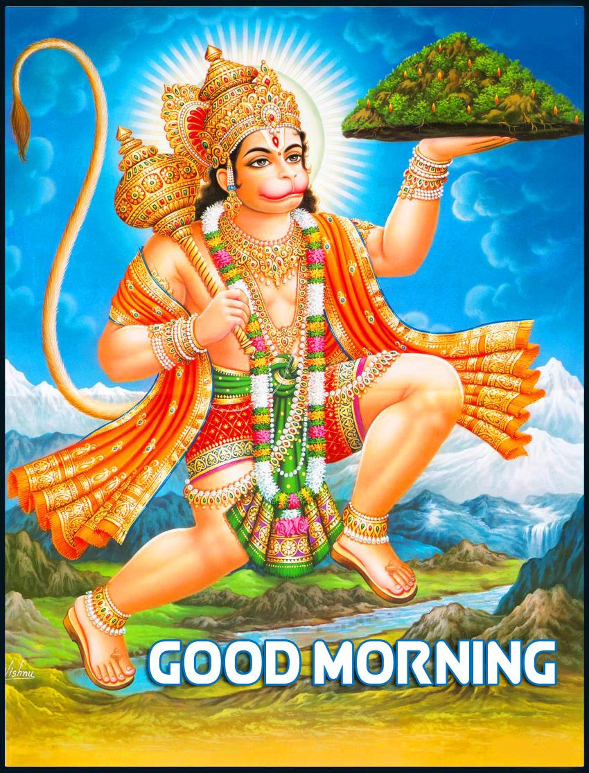 hanuman ji Good Morning Wallpaper 2021 1