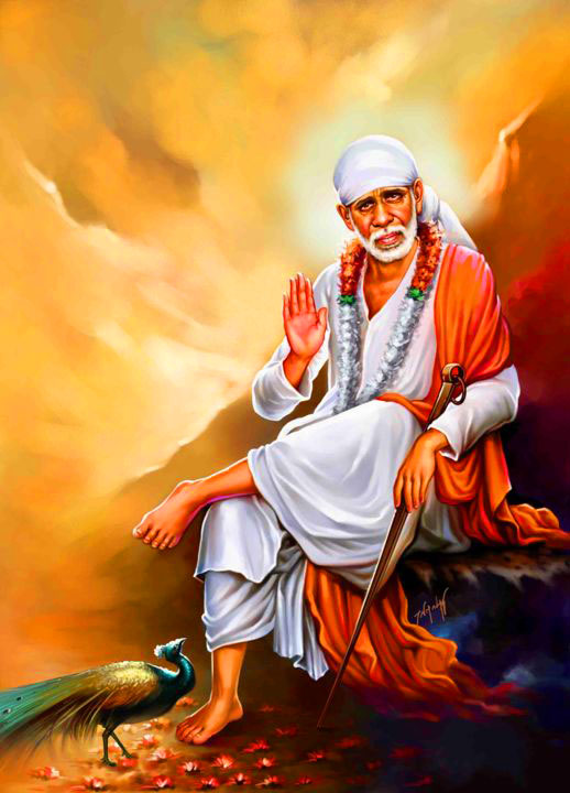 hd 1080p Sai Baba Blessing Images