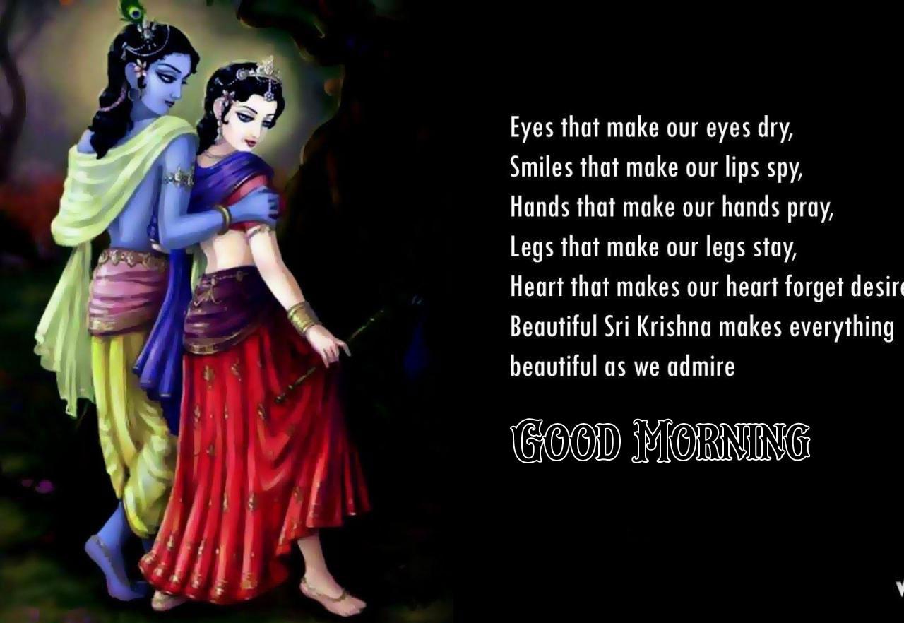 hd Beautiful Radha Krishna Good Morning Images