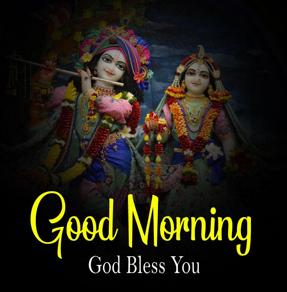 hd Latest Radha Krishna Good Morning Images 2