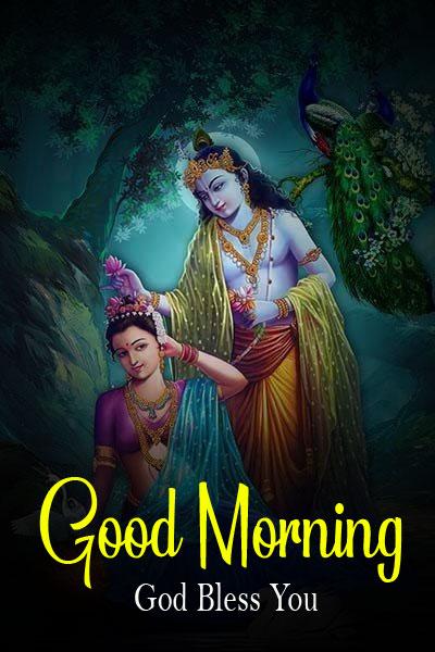 hd Latest Radha Krishna Good Morning Images
