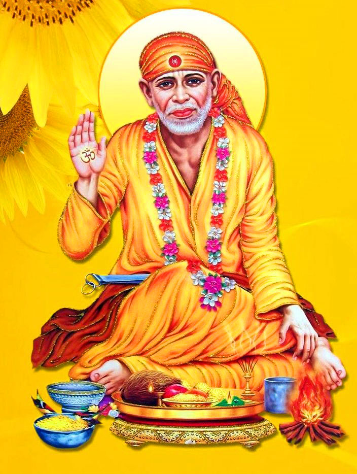 hd Latest Sai Baba Blessing Images