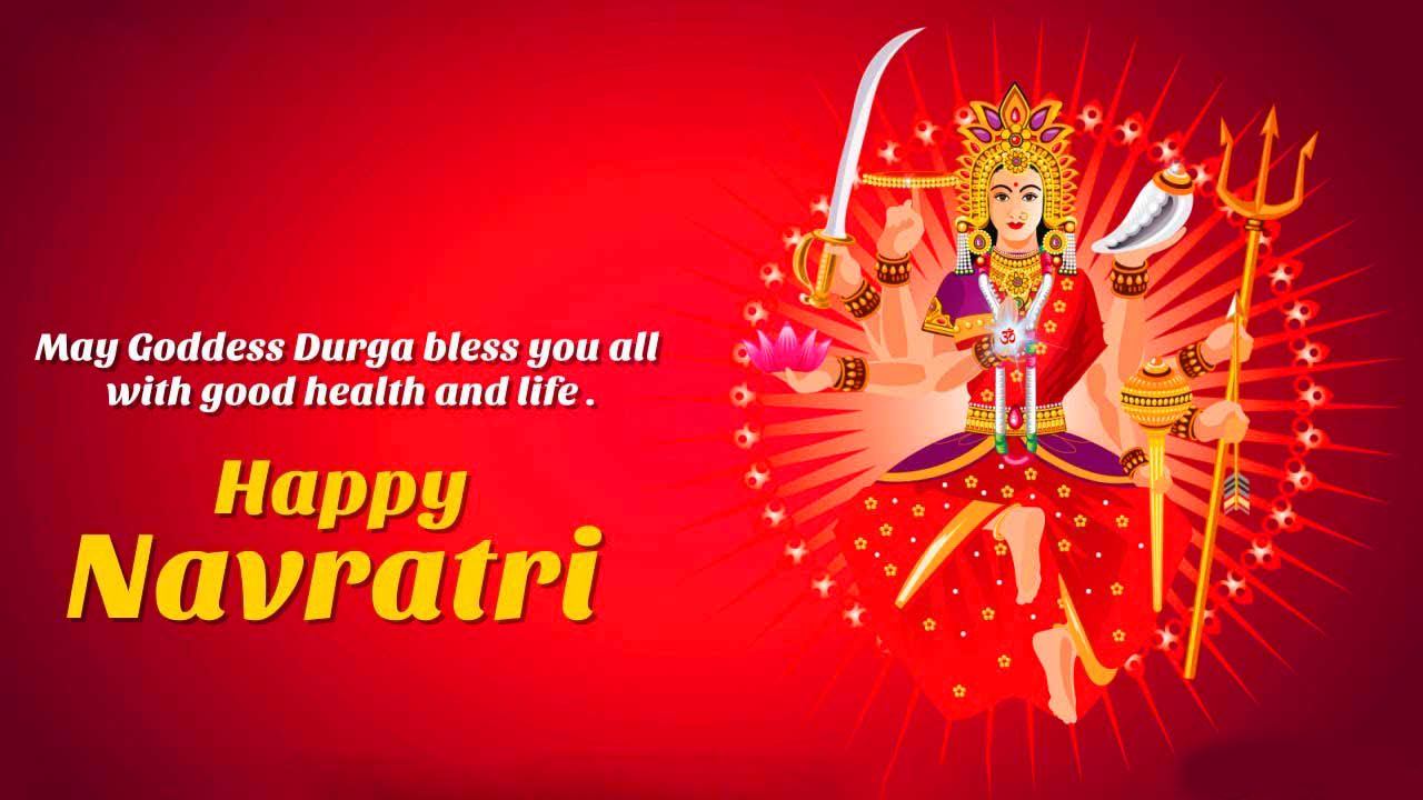 hd Maa Durga Latest Happy Navratri Images