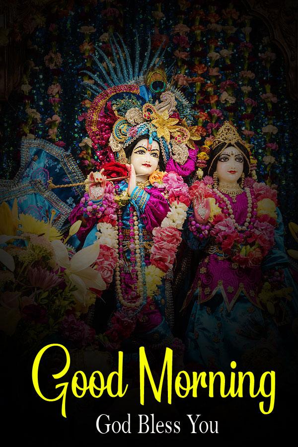 hd Radha Krishna Good Morning Images